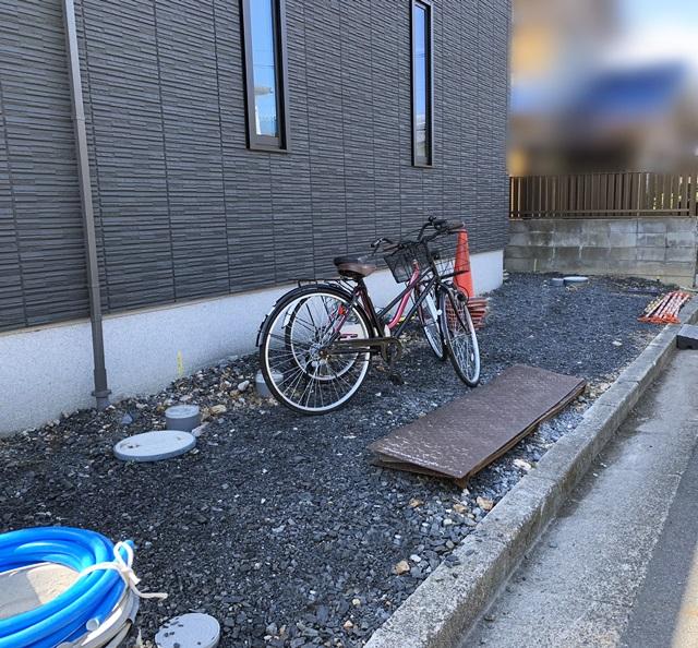 京都 LABOT - lab-t.com - ガレージ土間の準備、門柱回りの準備。 -