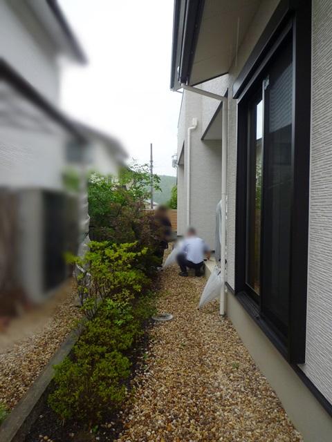 京都 LABOT - lab-t.com - LIXILココマを使って自然な目隠し -