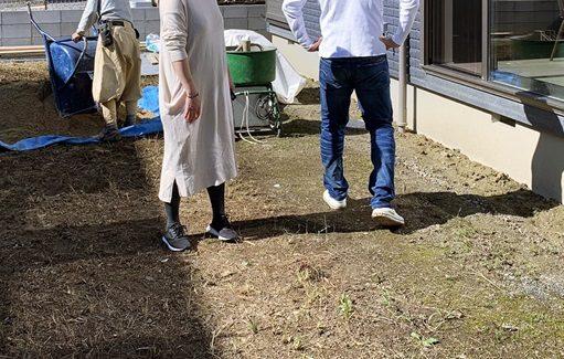 LABOT::大津市M様邸の新築外構工事が着工しました