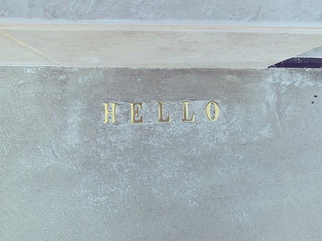 京都 LABOT - lab-t.com - 真鍮レターを埋め込んだアプローチ -