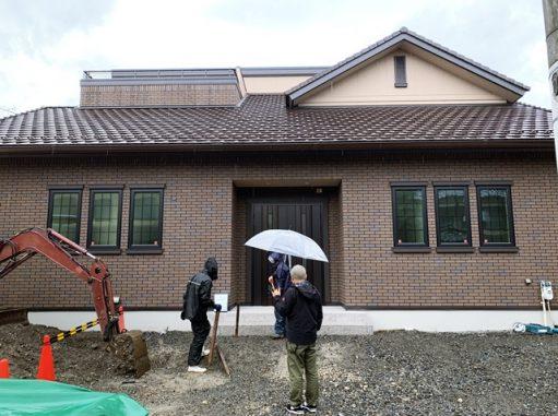 LABOT::まずは仮設工事から@左京区M様邸