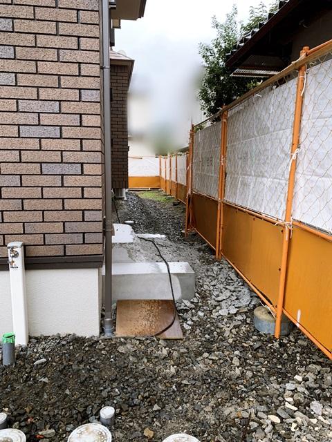 京都 LABOT - lab-t.com - まずは仮設工事から@左京区M様邸 -