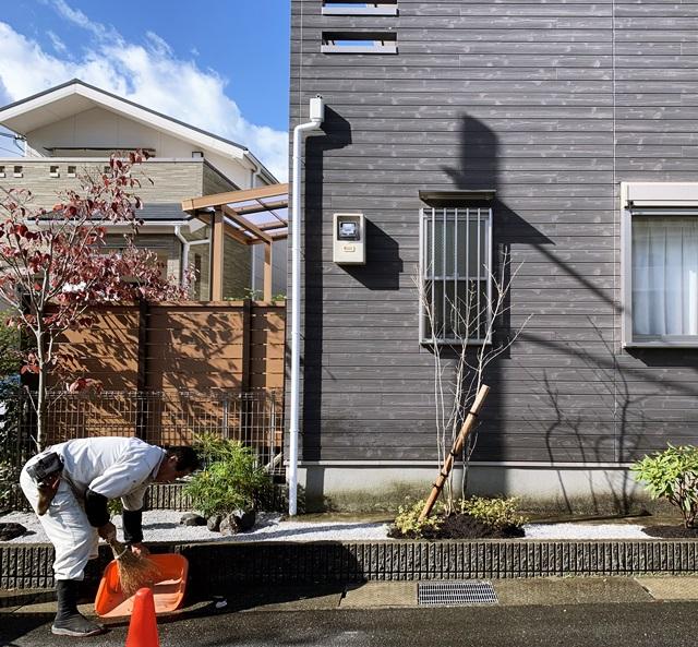 京都 LABOT - lab-t.com - 木目調でそろえた庭。リフォーム工事完成! -