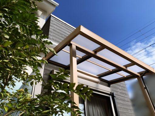 LABOT::木目調でそろえた庭。リフォーム工事完成!