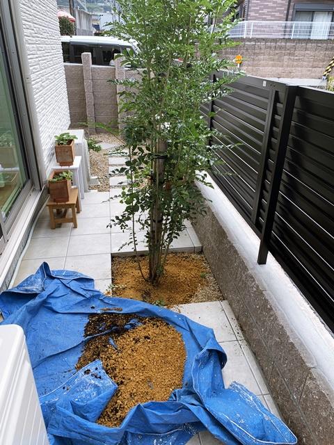 京都 LABOT - lab-t.com - Y様邸の植栽工事 -