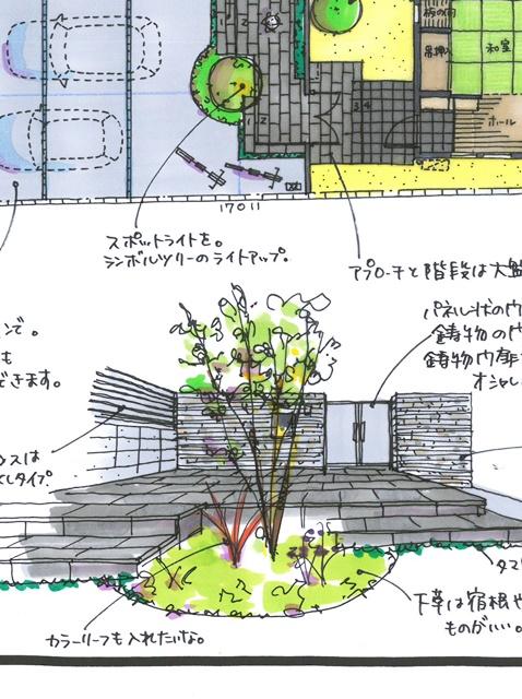 京都 LABOT - lab-t.com - きちんと感がある上品なクローズ外構 -