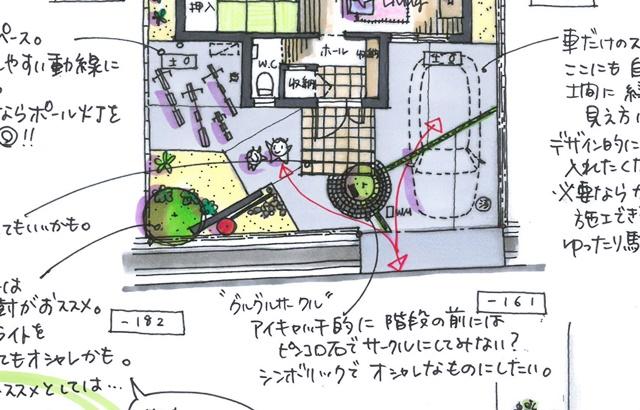 京都 LABOT - lab-t.com - 印象的な意匠壁 -