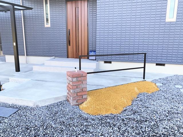 京都 LABOT - lab-t.com - 植栽の植え込み@大津市M様邸 -