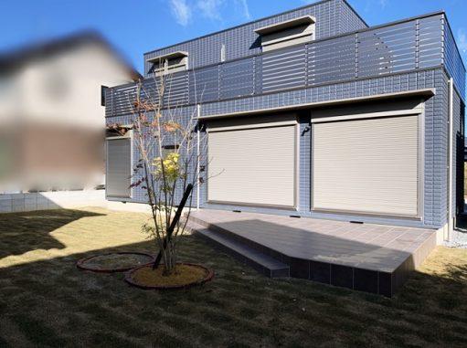 LABOT::M様邸のひろーい庭工事が完成!