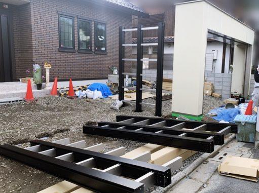 LABOT::左京区M様邸の門屋根施工レポート