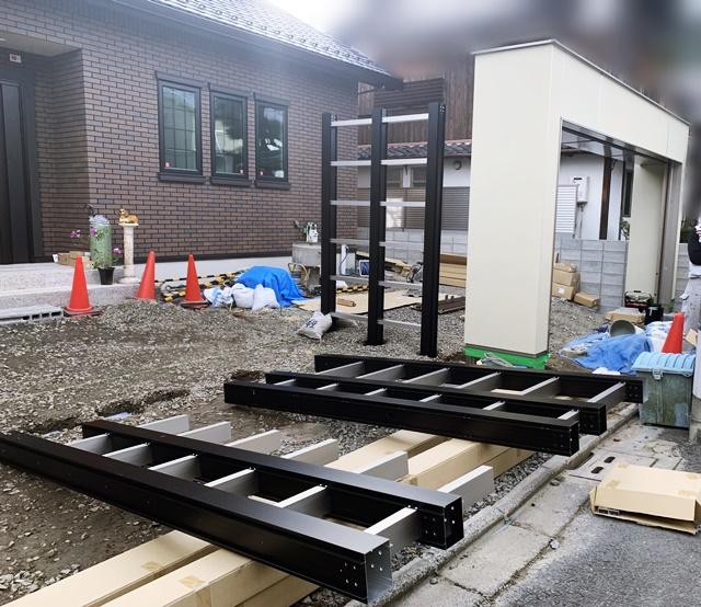 京都 LABOT - lab-t.com - 左京区M様邸の門屋根施工レポート -