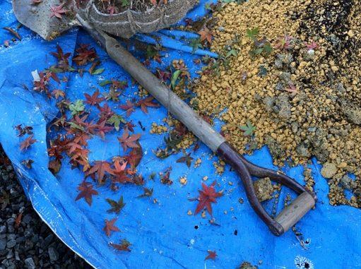 LABOT::植栽の植え込み@大津市M様邸