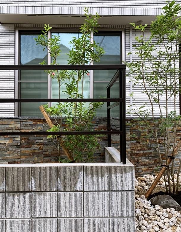 京都 LABOT - lab-t.com - 境界のブロック積工事から~左京区D様邸~ -
