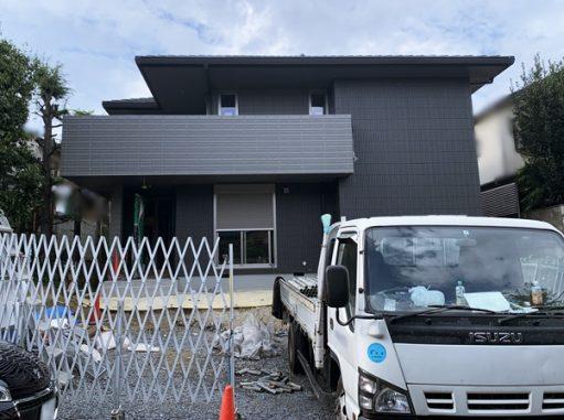 LABOT::二世帯住宅の外構工事着工中@北区