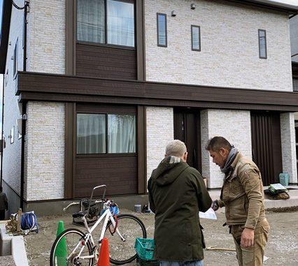 LABOT::伏見区M様邸の外構工事が始まりました