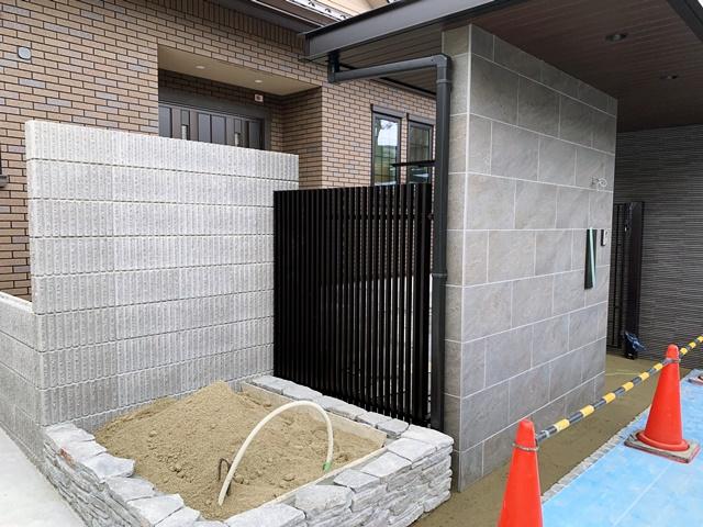 京都 LABOT - lab-t.com - 左京区M様邸の外構工事 -