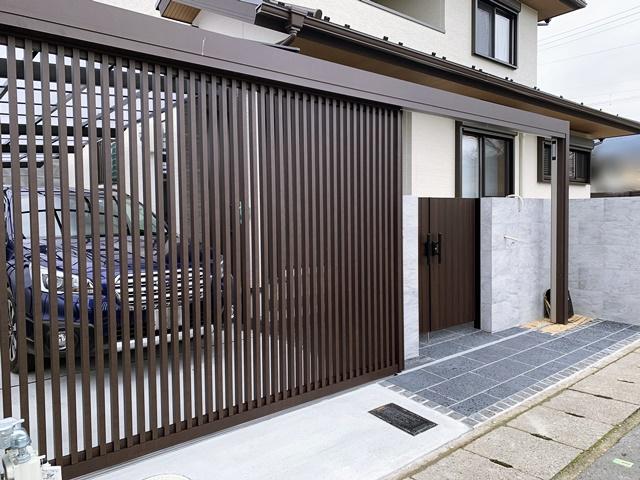京都 LABOT - lab-t.com - LIXILプラスGリニア吊引戸と素敵なお庭 -