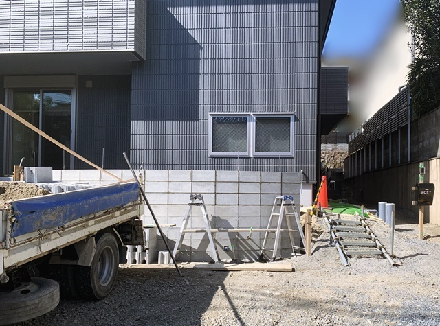 京都 LABOT - lab-t.com - 外構工事進捗レポート!@北区T様邸 -