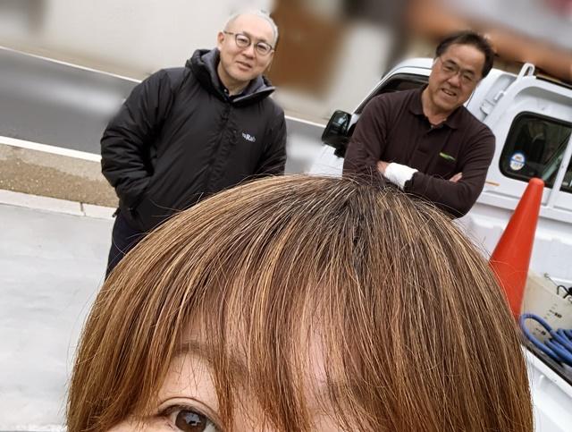 京都 LABOT - lab-t.com - F様邸植栽工事完工につき職人さんと写真をパチリッ♪ -