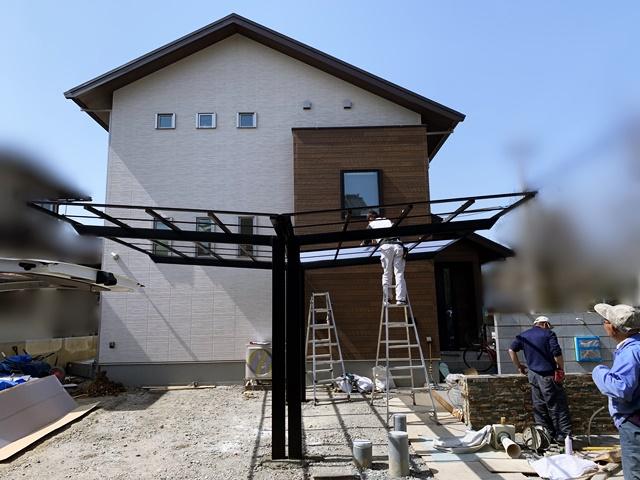 京都 LABOT - lab-t.com - Y様邸の新築外構工事、進んでます -
