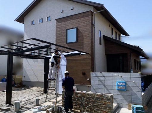 LABOT::Y様邸の新築外構工事、進んでます