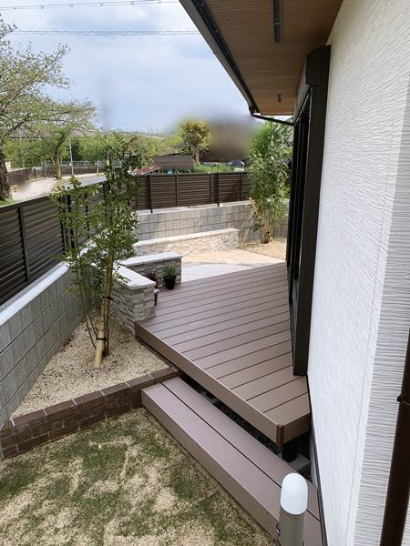 京都 LABOT - lab-t.com - 洋風ガーデン~三角と円と乱形と~ @左京区D様邸 -