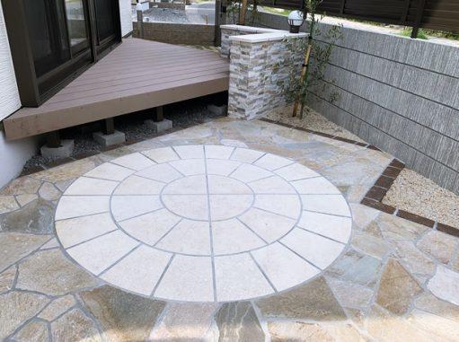 LABOT::洋風ガーデン~三角と円と乱形と~