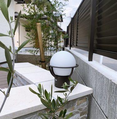 LABOT::洋風ガーデン~三角と円と乱形と~ @左京区D様邸