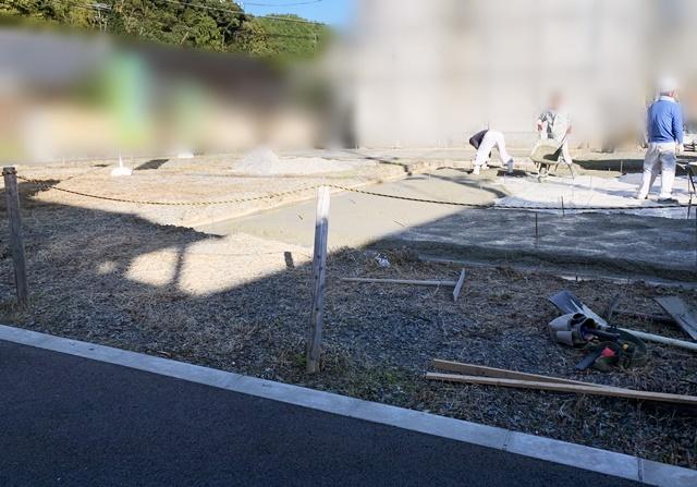 京都 LABOT - lab-t.com - 北区のT様邸、新築外構工事が始まっています -