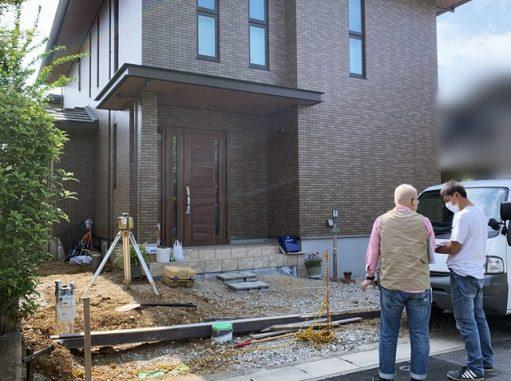 LABOT::本日着工!西京区S様邸の新築外構工事は高級感あるクローズ外構