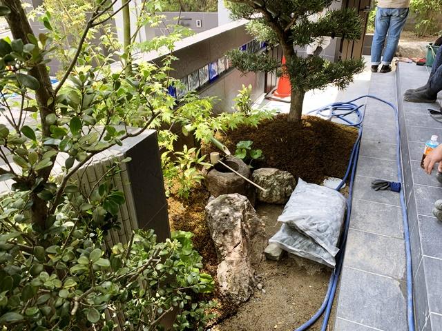 京都 LABOT - lab-t.com - 北区T様邸の造園工事 -