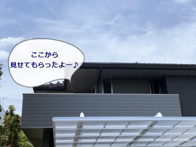 京都 LABOT - lab-t.com - ダブルフェースを2階のバルコニーから見てみた -