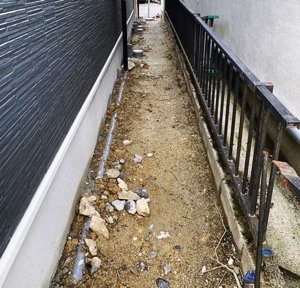 京都 LABOT - lab-t.com - O様邸の新築外構工事が着工しました@枚方市 -