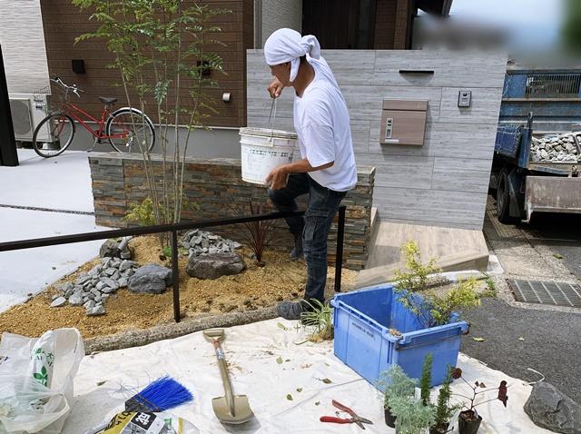 京都 LABOT - lab-t.com - Y様邸の花壇を素敵にしたくて -