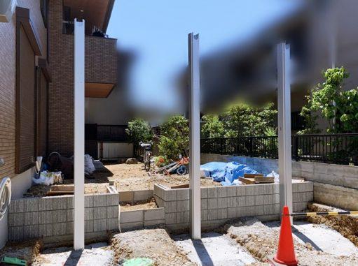 LABOT::西京区S様邸新築外構の工事進捗レポート