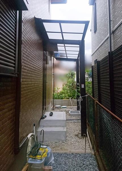 京都 LABOT - lab-t.com - 西京区S様邸新築外構の工事進捗レポート -