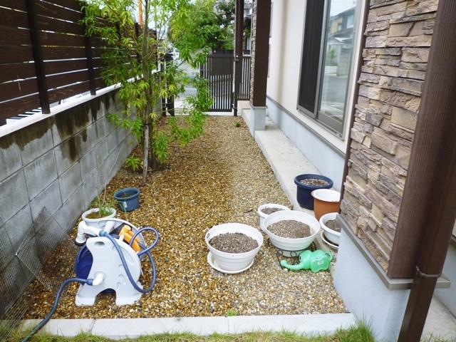 京都 LABOT - lab-t.com - 雨の日に出来る外構工事 -