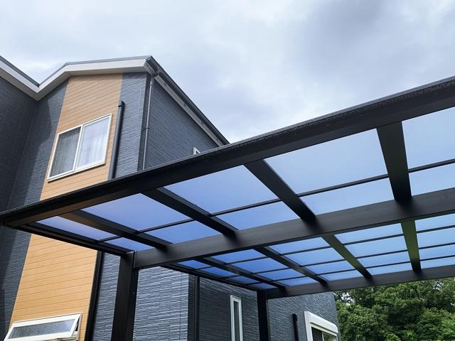 京都 LABOT - lab-t.com - なっちゃんの家のオープン外構 -
