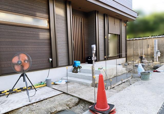 京都 LABOT - lab-t.com - 山科区T様邸の新築外構工事が始まりました -