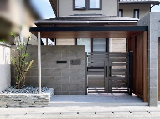 LABOT::山科区M様邸の外構リフォーム工事完成しました!