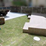 京都 LABOT - lab-t.com - そして芝生を敷いたよー -