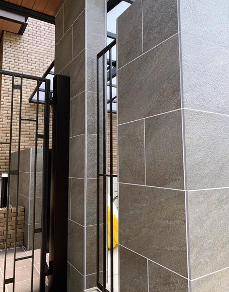 京都 LABOT - lab-t.com - エクスティアラアーチ(門屋根)とダブルフェース(カーポート) -