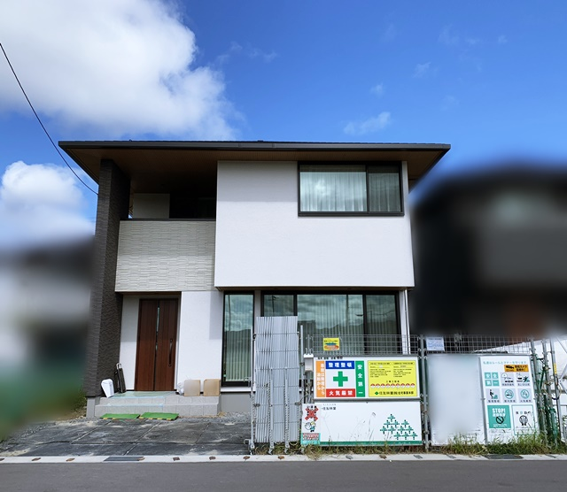 京都 LABOT - lab-t.com - 亀岡市でも新築外構工事が始まったよー -
