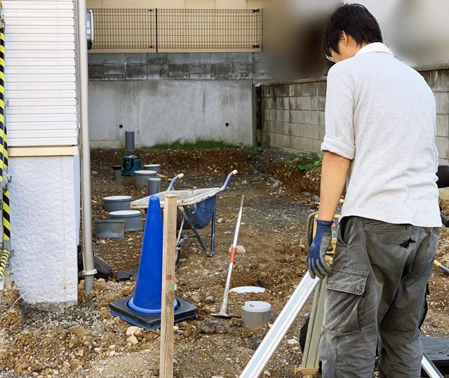 京都 LABOT - lab-t.com - 新築外構工事着工しました@向日市F様邸 -