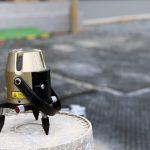 京都 LABOT - lab-t.com - 立水栓の排水パンをタイルテラスの中に作ろう -