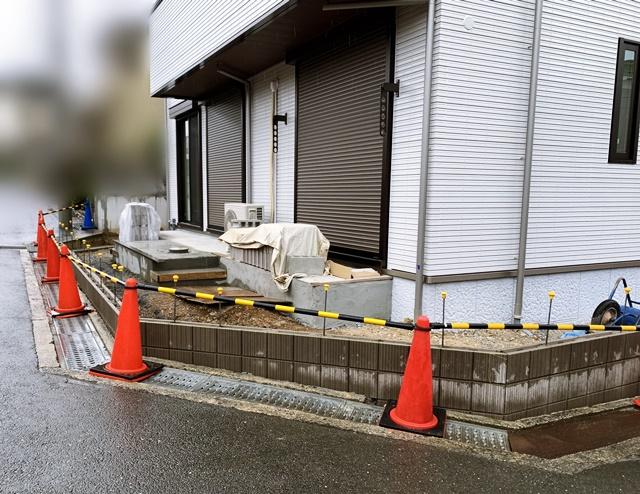 京都 LABOT - lab-t.com - カーポートをつける準備中 -