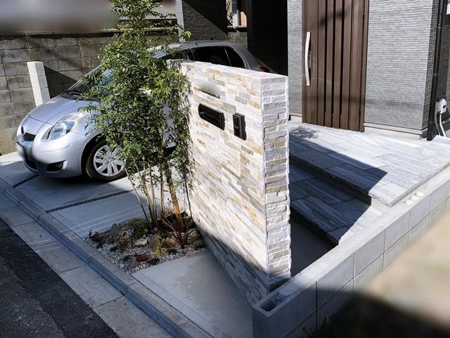 京都 LABOT - lab-t.com - 石の階段と石の門柱 -