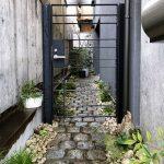 京都 LABOT - lab-t.com - 幅の狭いアプローチで活きるデザイン -