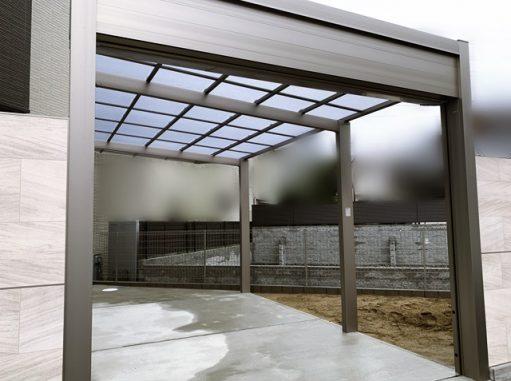 LABOT::ひとまずガレージとアプローチが完成した右京区の二世帯住宅S様邸