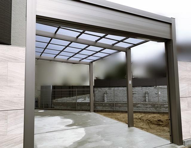 京都 LABOT - lab-t.com - ひとまずガレージとアプローチが完成した右京区の二世帯住宅S様邸 -
